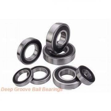 2 mm x 7 mm x 2,8 mm  ISB F602 deep groove ball bearings