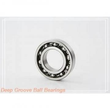 4,762 mm x 17,462 mm x 6,35 mm  ZEN S1601-2Z deep groove ball bearings