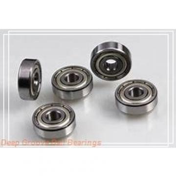 5 mm x 14 mm x 5 mm  ISB 605ZZ deep groove ball bearings