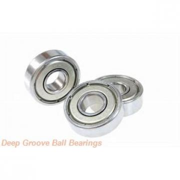 190 mm x 340 mm x 55 mm  SKF 6238 deep groove ball bearings