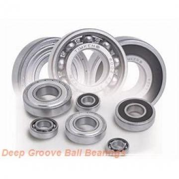 170 mm x 260 mm x 42 mm  KOYO 6034 deep groove ball bearings