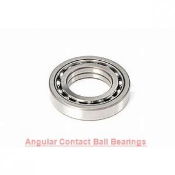 35 mm x 80 mm x 21 mm  NTN QJ307 angular contact ball bearings